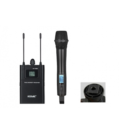ACEMİC DV-100H  EL UHF  Wireless Camera Microphone System