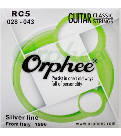 ORPHEE RC-5 KLASİK Gitar  Nylon, Normal Tension Takım Tel